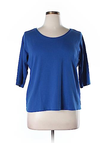 Eileen Fisher 3/4 Sleeve T-Shirt Size XL