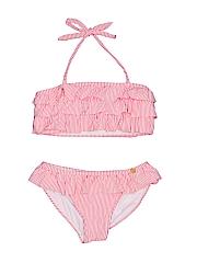 Jessica Simpson Girls Two Piece Swimsuit Size 14