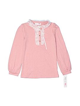 Maeli Rose Long Sleeve Top Size 7