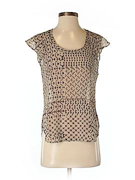 Line & Dot Sleeveless Blouse Size S