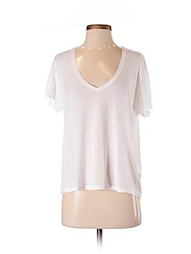 Anine Bing Short Sleeve Silk Top Size XS