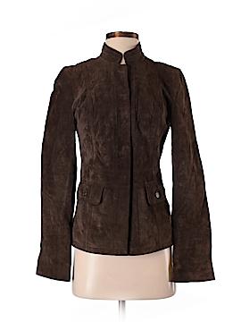 Calvin Klein Leather Jacket Size XS