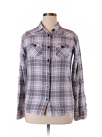 O'Neill Long Sleeve Button-Down Shirt Size XL