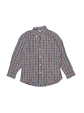 Papo d'Anjo Long Sleeve Button-Down Shirt Size 5