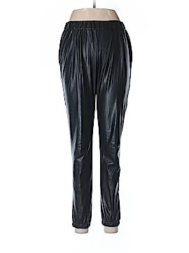 Aqua Faux Leather Pants Size 6