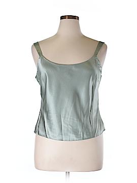 Lafayette 148 New York Sleeveless Silk Top Size 14