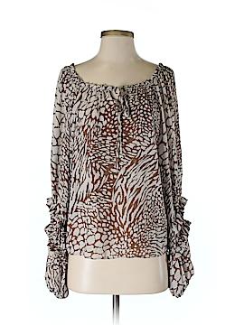 Parker Long Sleeve Silk Top Size XS