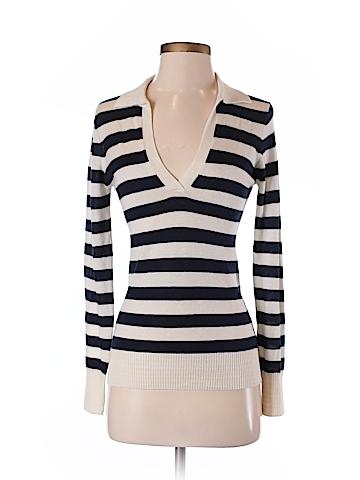 Trina Turk Silk Pullover Sweater Size S