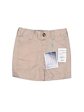 Andy & Evan Khaki Shorts Size 6-12 mo