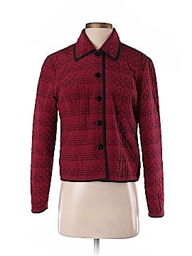 Maggy London Silk Blazer Size 4