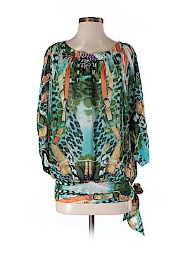 FORLA PARIS 3/4 Sleeve Blouse Size S
