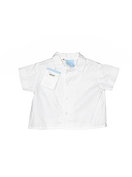 Bella Bliss Short Sleeve Button-Down Shirt Size 3 mo