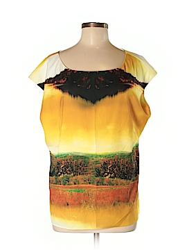 CATHERINE Catherine Malandrino Short Sleeve Blouse Size L