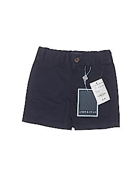 Andy & Evan Khaki Shorts Size 3-6 mo