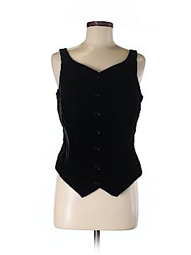 Dana Buchman Tuxedo Vest Size 8