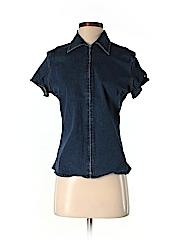 Tommy Hilfiger Women Short Sleeve Blouse Size 4
