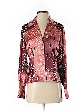 Vertigo Paris Long Sleeve Silk Top Size M