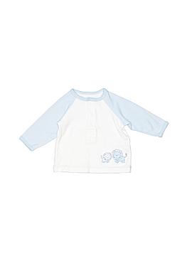 Little Me Long Sleeve Henley Newborn