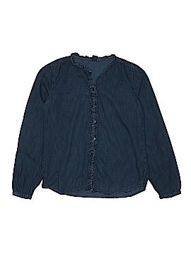 Gap Kids Long Sleeve Button-Down Shirt Size 2X-large (Kids)