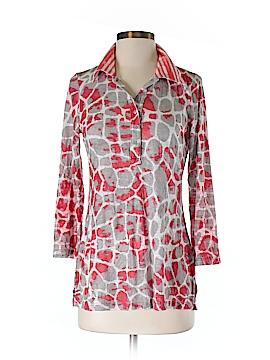 David Cline 3/4 Sleeve Button-Down Shirt Size XS