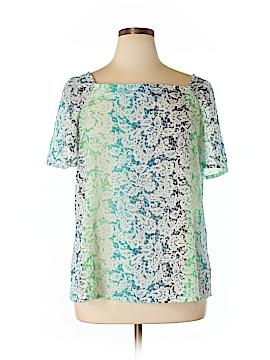 Foxcroft Short Sleeve Blouse Size 16