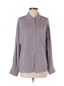 Tori Praver 3/4 Sleeve Button-Down Shirt Size 2