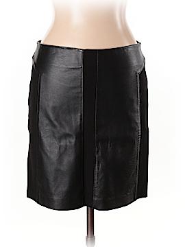 Aqua Leather Skirt Size 10