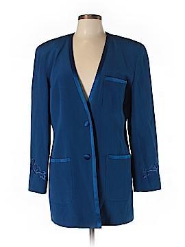 Saks Fifth Avenue Silk Blazer Size 12
