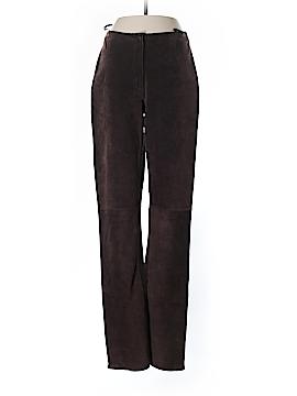 Bebe Leather Pants Size 2