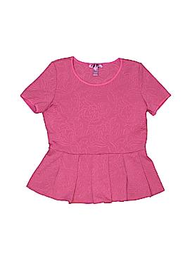 Aqua Short Sleeve Top Size L (Youth)