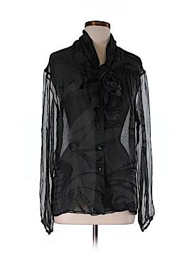 Vena Cava Long Sleeve Silk Top Size 6