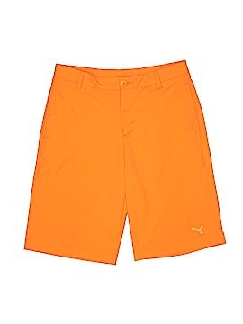 Puma Khaki Shorts Size X-Large (Youth)