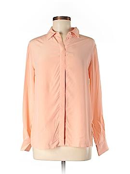 Grana Long Sleeve Silk Top Size M