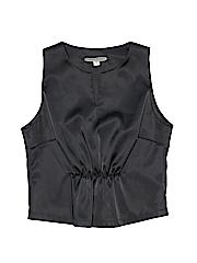 Cheryl Fudge Girls Sleeveless Blouse Size S (Youth)