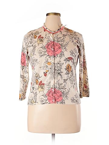 Valerie Stevens Silk Cardigan Size XL