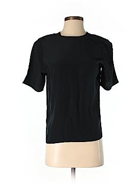 Evan Picone Short Sleeve Silk Top Size 2