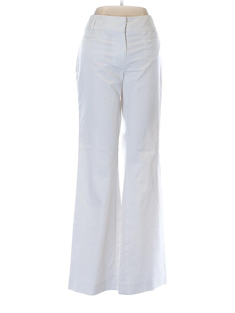 0c3734217ca Apt. 9 Solid White Dress Pants Size 6 - 64% off
