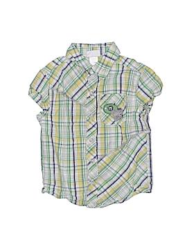 Little Me Short Sleeve Button-Down Shirt Size 8