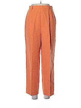 Adrienne Vittadini Linen Pants Size 10