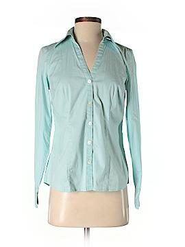 Ann Taylor LOFT Long Sleeve Button-Down Shirt Size 4