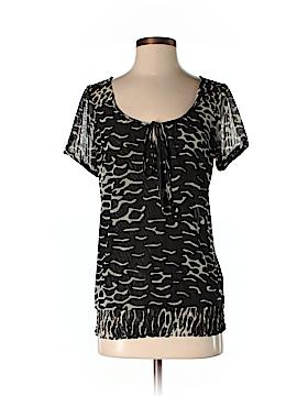 Nicole Miller New York Short Sleeve Top Size S