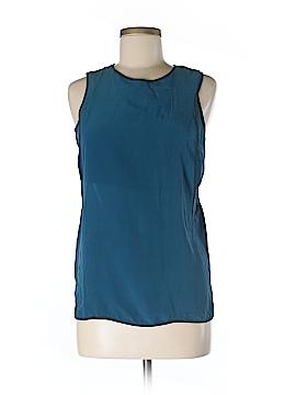 Lou & Grey Sleeveless Silk Top Size XS