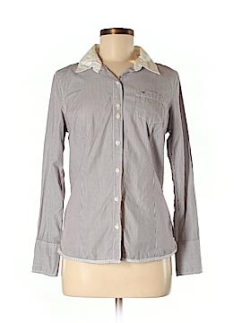 Hilfiger Denim Long Sleeve Button-Down Shirt Size M