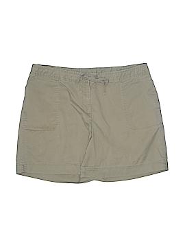 J.jill Khaki Shorts Size 19