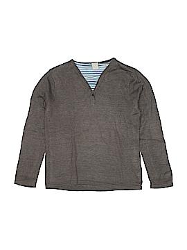 Scotch Shrunk Long Sleeve Henley Size 8