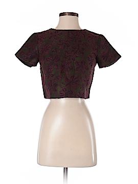Alice + olivia Short Sleeve Blouse Size 2