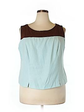 DressBarn Sleeveless Blouse Size 20 (Plus)