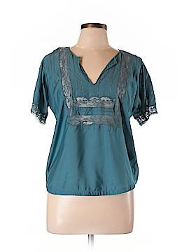 Beyond Vintage Short Sleeve Blouse Size M