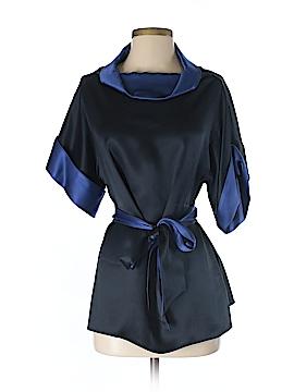Escada 3/4 Sleeve Silk Top Size 36 (EU)