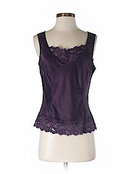 Caslon Sleeveless Silk Top Size S